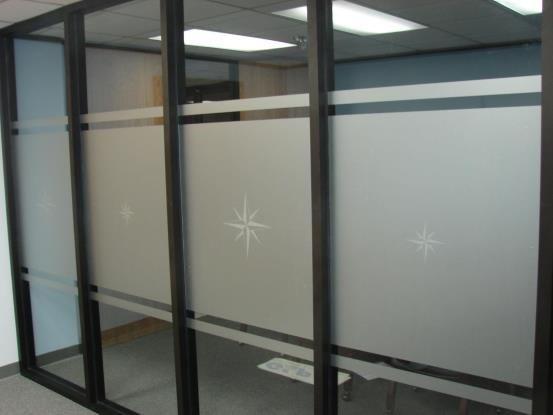 WIN127 - Custom Window Graphic for Interior Design