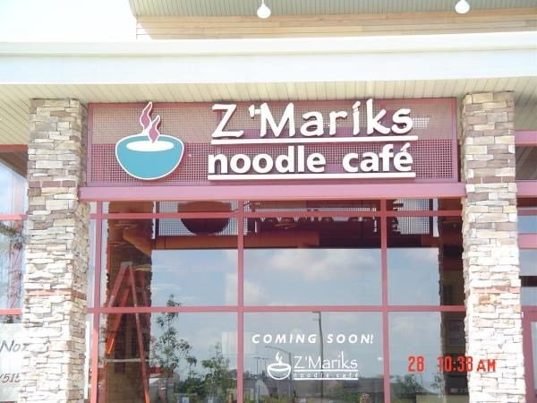 CL001 - Custom Channel Letters for Restaurant