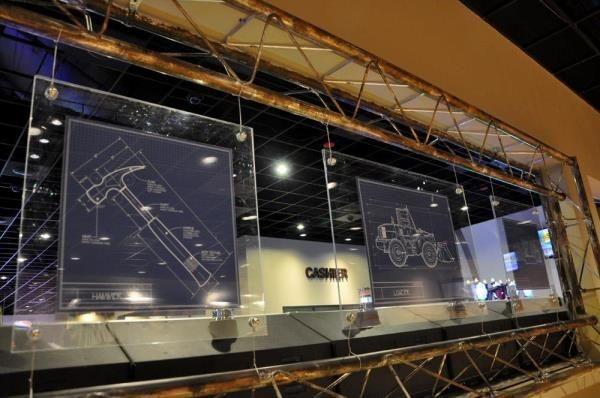 ACR019 - Custom Acrylic Display for Entertainment