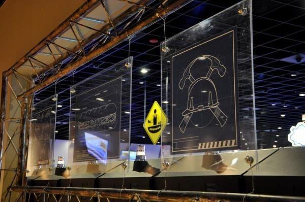 ACR020 - Custom Acrylic Display for Entertainment