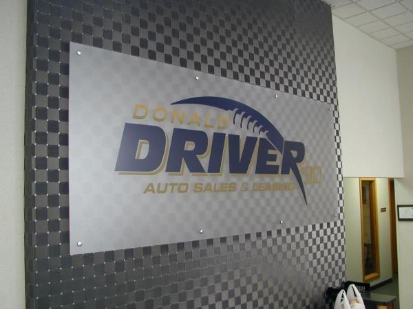 ACR054 - Custom Acrylic Display for Auto Dealerships & Services