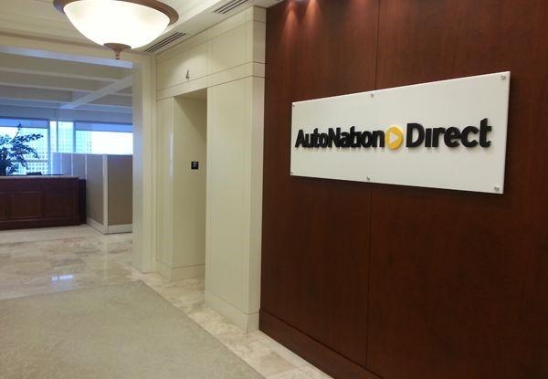 acr062 - Custom Acrylic Display for AutoNation