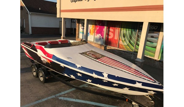 Boat & Watercraft Wraps & Decals
