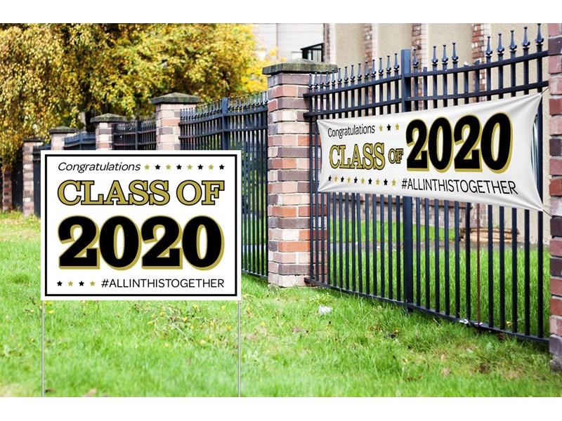 2020 With Custom Yard Signs