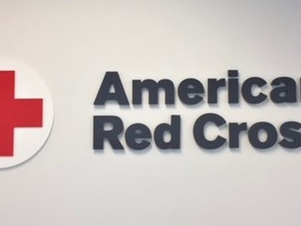 American Red Cross 3D Wall Sign with Logo