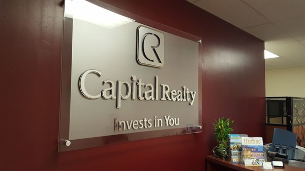 3D Signs for Capital Realty