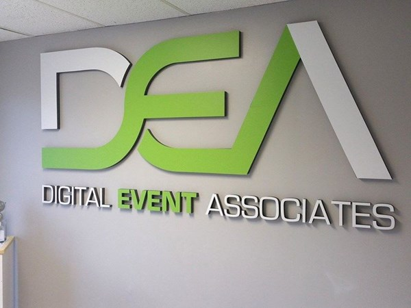 Dimensional Letters for Digital Event Associates