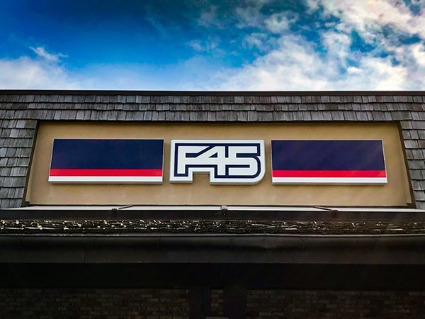 Storefront F45 Letters
