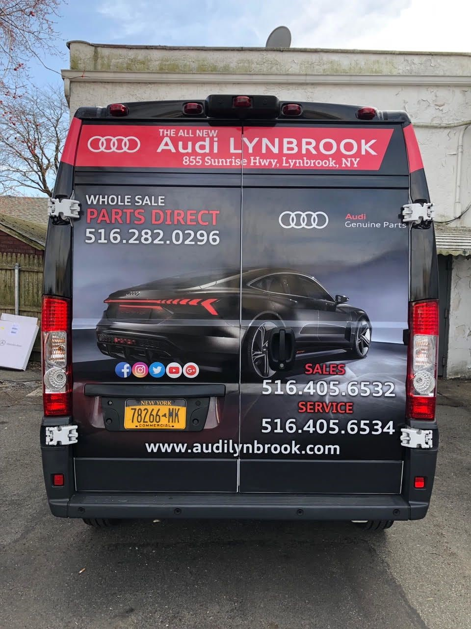 Vehicle Logo Graphics & Lettering   Auto Dealership Signs   Lynbrook