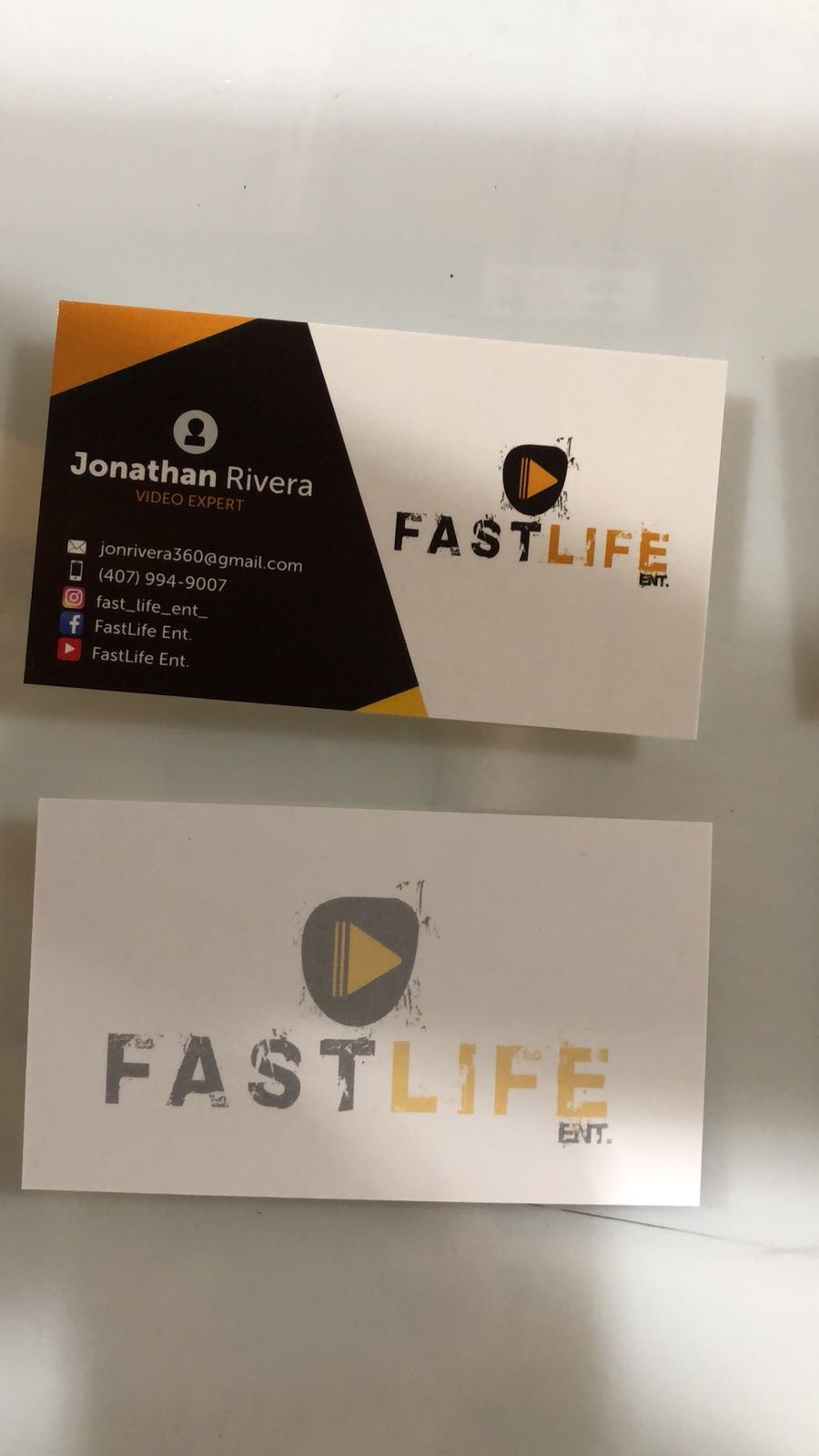 Business Cards | Business Presentation Materials | Contract & Freelance Graphic Designers | Orlando , FL | Video Expert | Fastlife