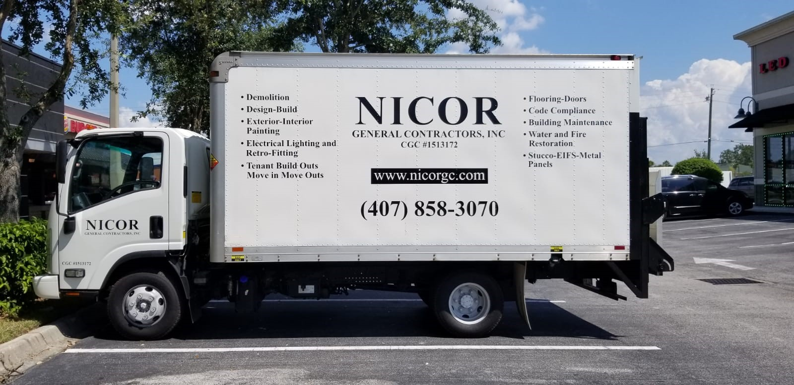 Vehicle Decals & Lettering | Custom Signs & Signage | Builder & Contractor Signs | Orlando, FL