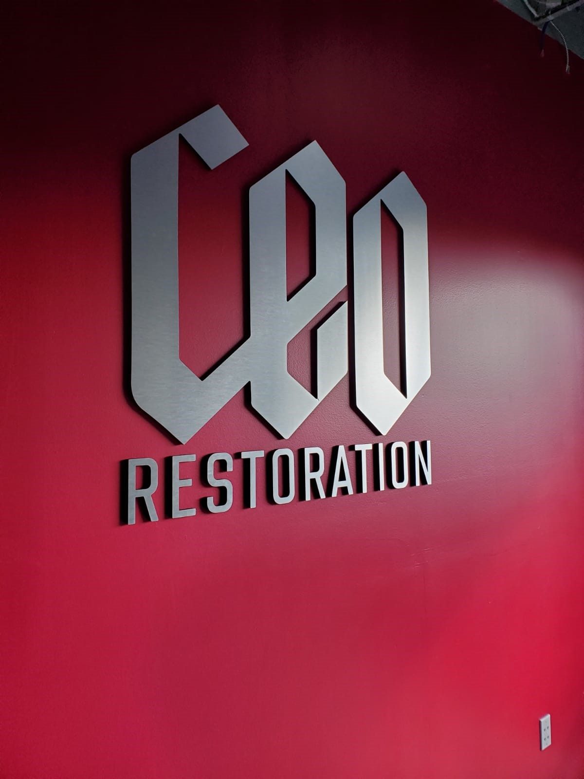 3D Signs & Dimensional Letters & Logos | Reception & Lobby Signs | Builder & Contractor Signs | Orlando, Florida