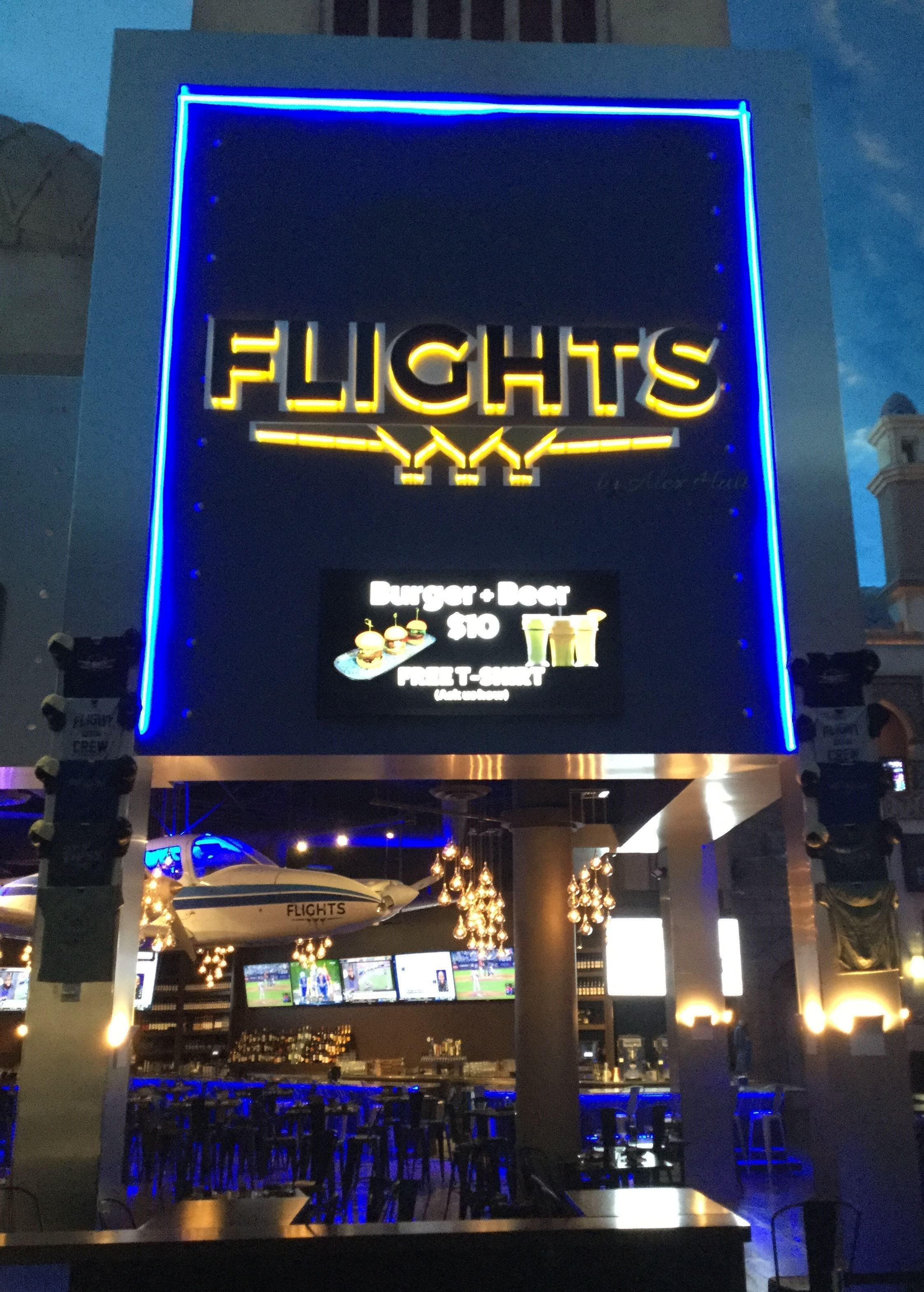 Channel Letters   Backlit and Edgelit Channel Letters and Signs   Bars, Entertainment Venues   Las Vegas   Interior Signage & Indoor Signs