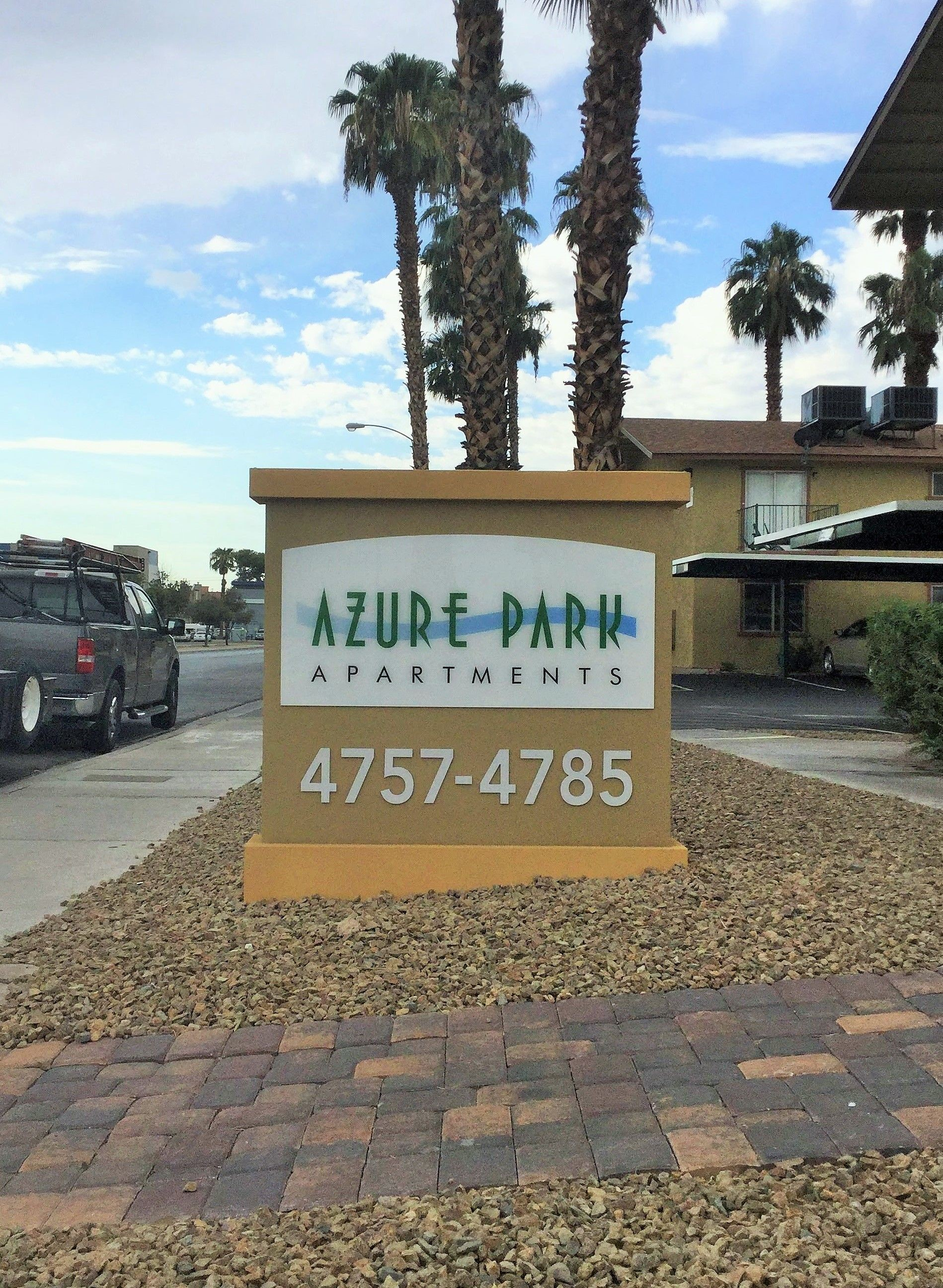 Exterior & Outdoor Signage | Monument Signs | Property Management and Apartment Signs | Las Vegas