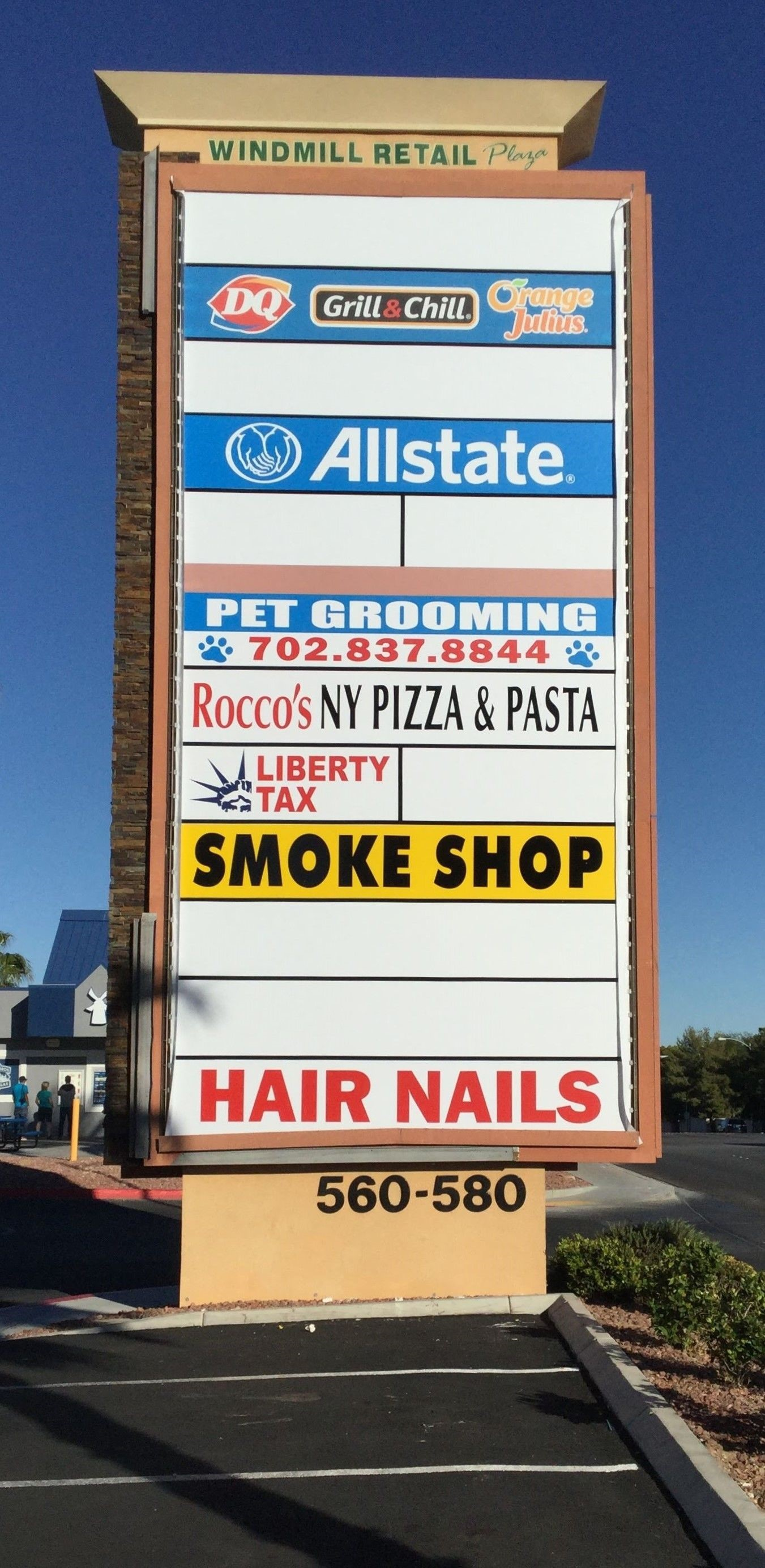 Exterior & Outdoor Signage | Monument Signs | Retail Signs | Las Vegas