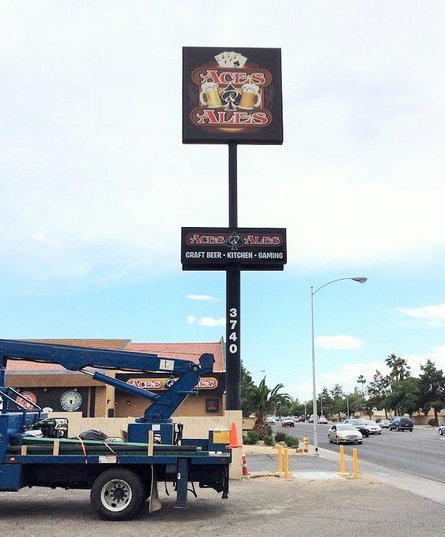 Exterior & Outdoor Signage   Pylon & Pole Signs   Bars, Entertainment Venues   Las Vegas