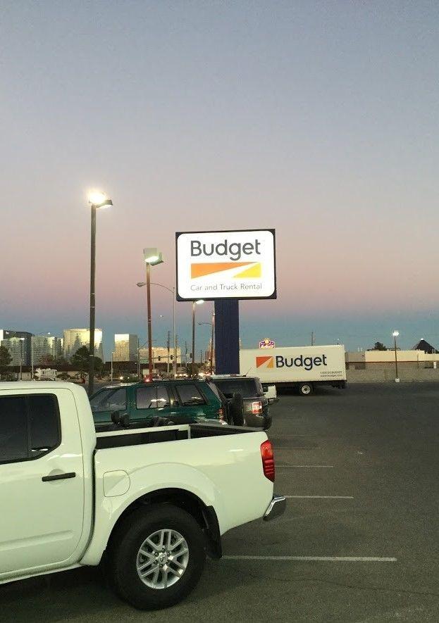 Exterior & Outdoor Signage   Pylon & Pole Signs   Auto Dealership Signs   Las Vegas   Budget