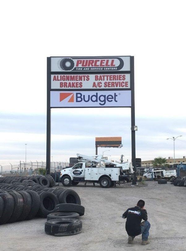 Exterior & Outdoor Signage   Pylon & Pole Signs   Auto Dealership Signs   North Las Vegas   Highway Sign