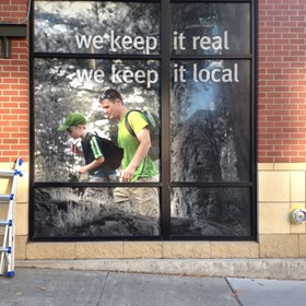 - Custom Graphics - Window Graphics - Skagit Bank - Bellingham, WA
