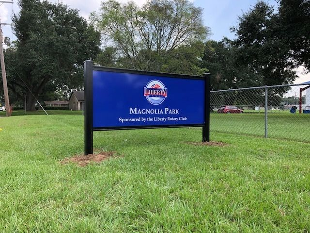 Exterior & Outdoor Signage | Post & Panel Signs | Government & Public Office Signs | Liberty, Texas