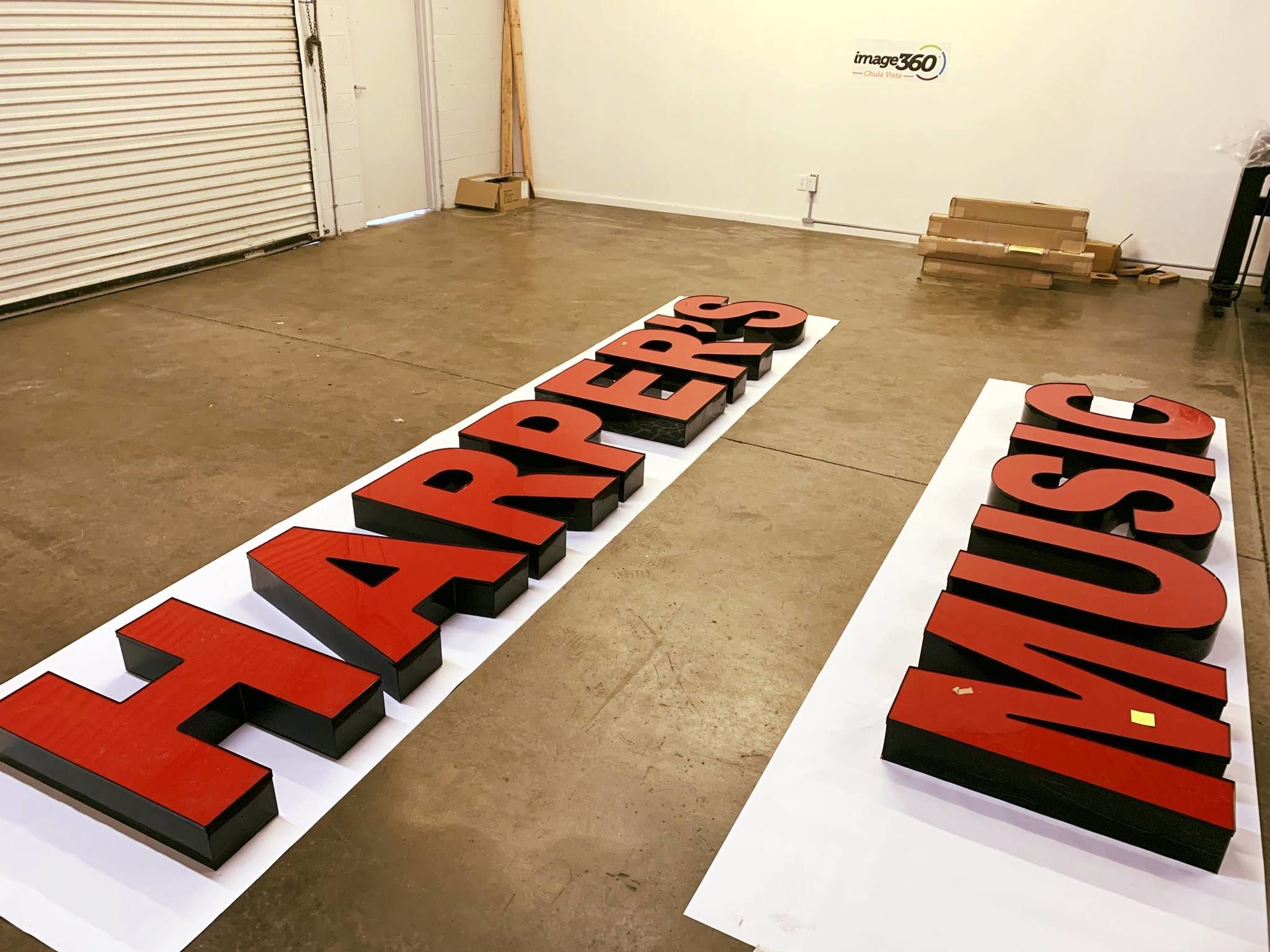 3D Signs & Dimensional Letters | Exterior & Outdoor Signage | Retail Signs | San Diego-Chula Vista, CA