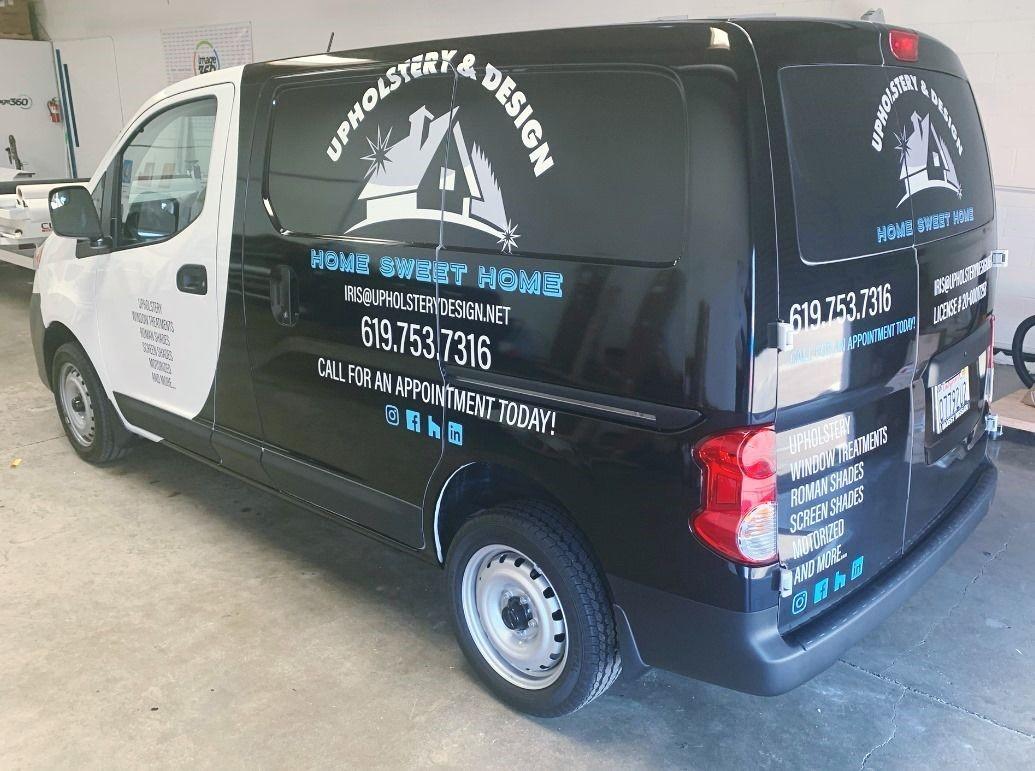 Partial Vehicle Wraps   Vehicle Decals & Lettering   Transportation, Logistics, & Distribution   San Diego-Chula Vista, CA