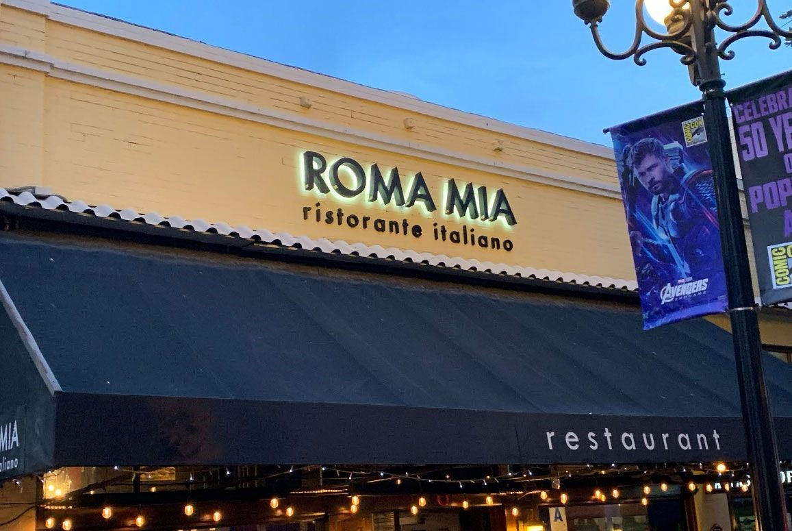 3D Signs & Dimensional Letters & Logos | Exterior & Outdoor Signage | Restaurant and Food Service Signs | San Diego-Chula Vista, CA