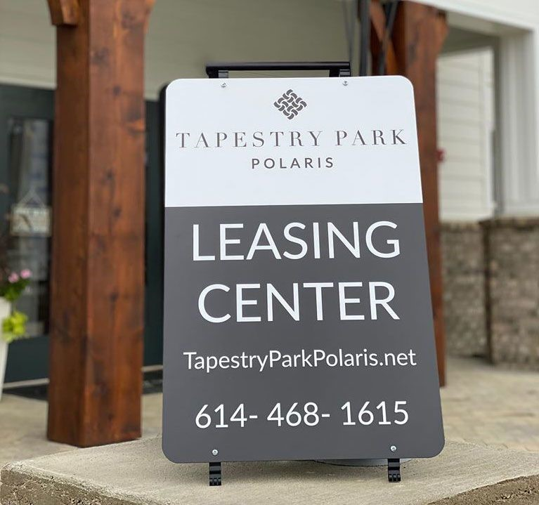 A-Frames & Sidewalk Signs | Exterior & Outdoor Signage | Real Estate Signs | Lewis Center, OH