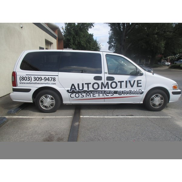 Vehicle Window Decals, Graphics & Lettering