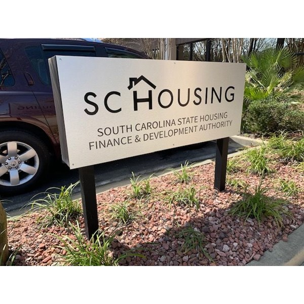 Exterior & Outdoor Signage- SC State Housing