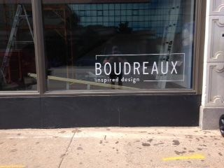 Boudreaux Vinyl Decal For Window