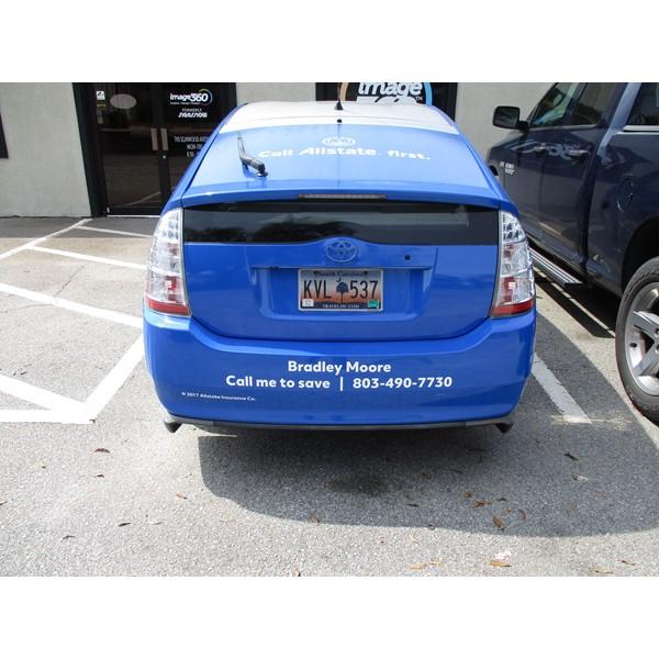 Full Vehicle Wraps-Allstate Full Wrap rear
