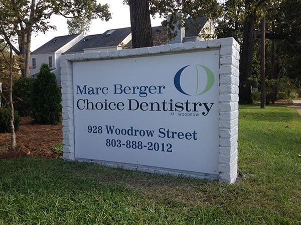 Marc Berger Choice Dentistry Monument Sign