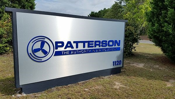 Patterson Fan Monument Sign