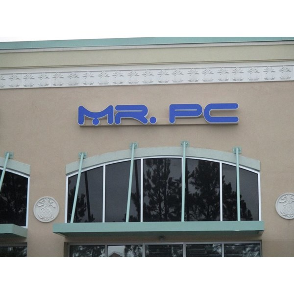 Storefront & Building Channel Letters