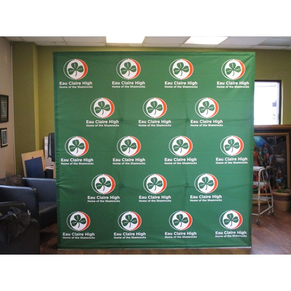 Step & Repeat Banners and Backdrops-Eau Claire High School