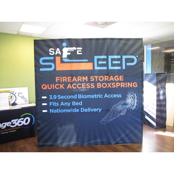 Convention & Exhibit Signs-Safe Sleep