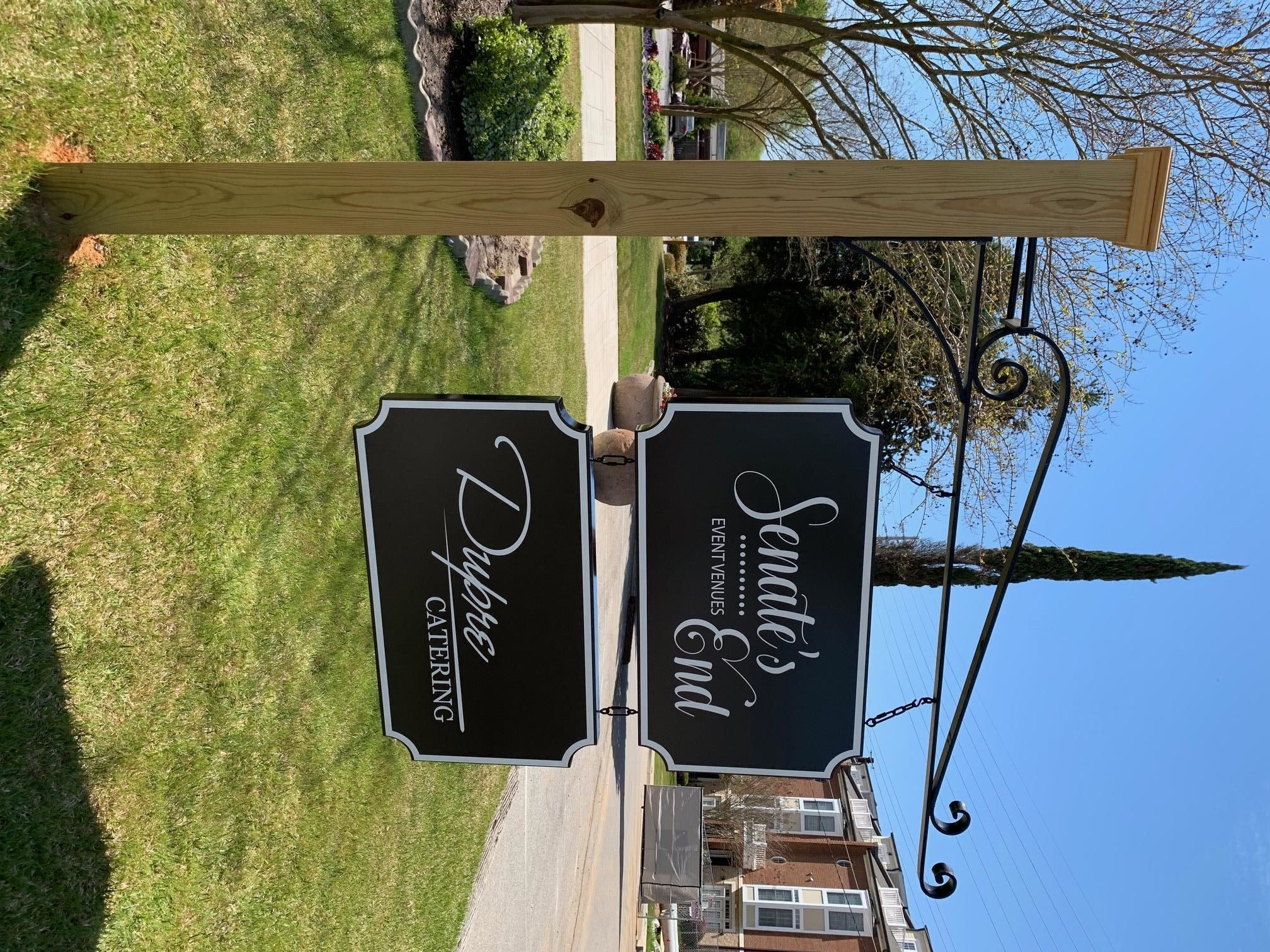Sign Posts & Sign Hanging Accessories   Exterior & Outdoor Signage   Bars, Entertainment Venues   Columbia, SC