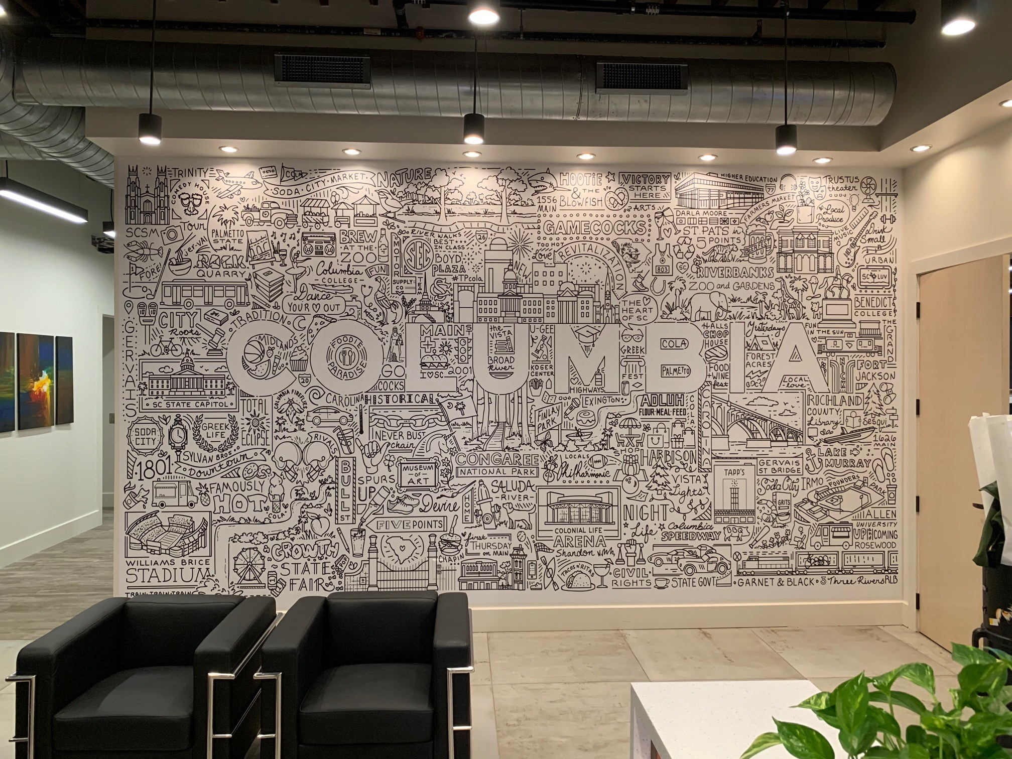 Interior Signage & Indoor Signs | Wall Graphics, Murals, Wallpaper | Property Management and Apartment Signs | Columbia