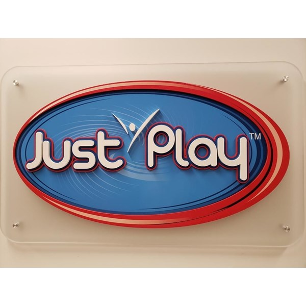 3-D Multi-Layered Custom Routed and Painted Sign on Acrylic
