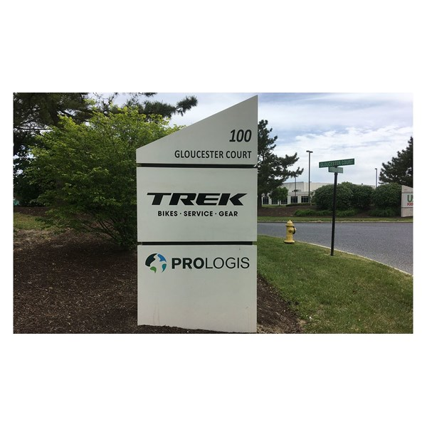 Updated monument signage for Trek.