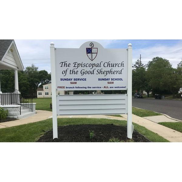New letter track for Church of the Good Shepherd