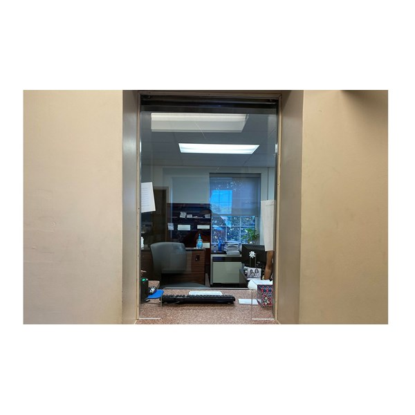 Pennsauken Township wanted thicker acrylic for their tax collectors window. We cut and installed 3/4 acrylic.