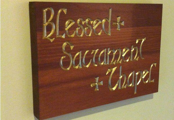 - Image360-Marlton-NJ-Plaque-Blessed-Sacrament
