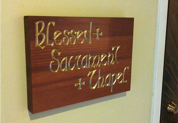 - image360-marlton-nj-post-and-panel-blessed-sacrament-chapel