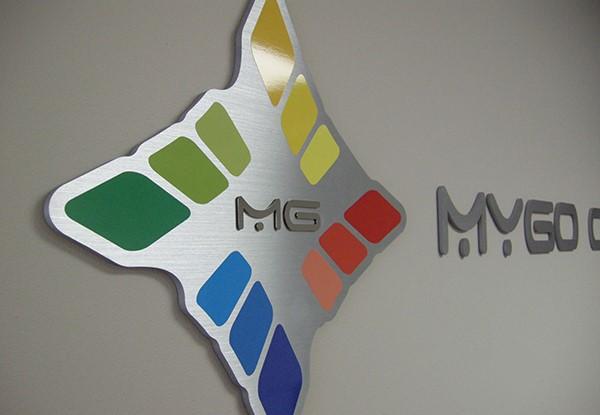 Dimensional Signage MG