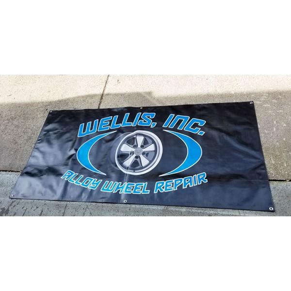 Reflective Vinyl Outdoor Banner