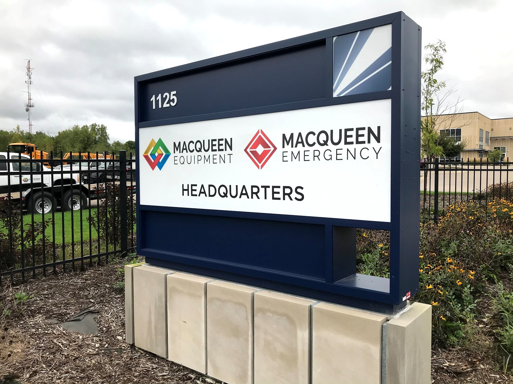 Monument Signs | Custom Signs & Signage | Manufacturing and Industrial Signs | St. Paul, MN