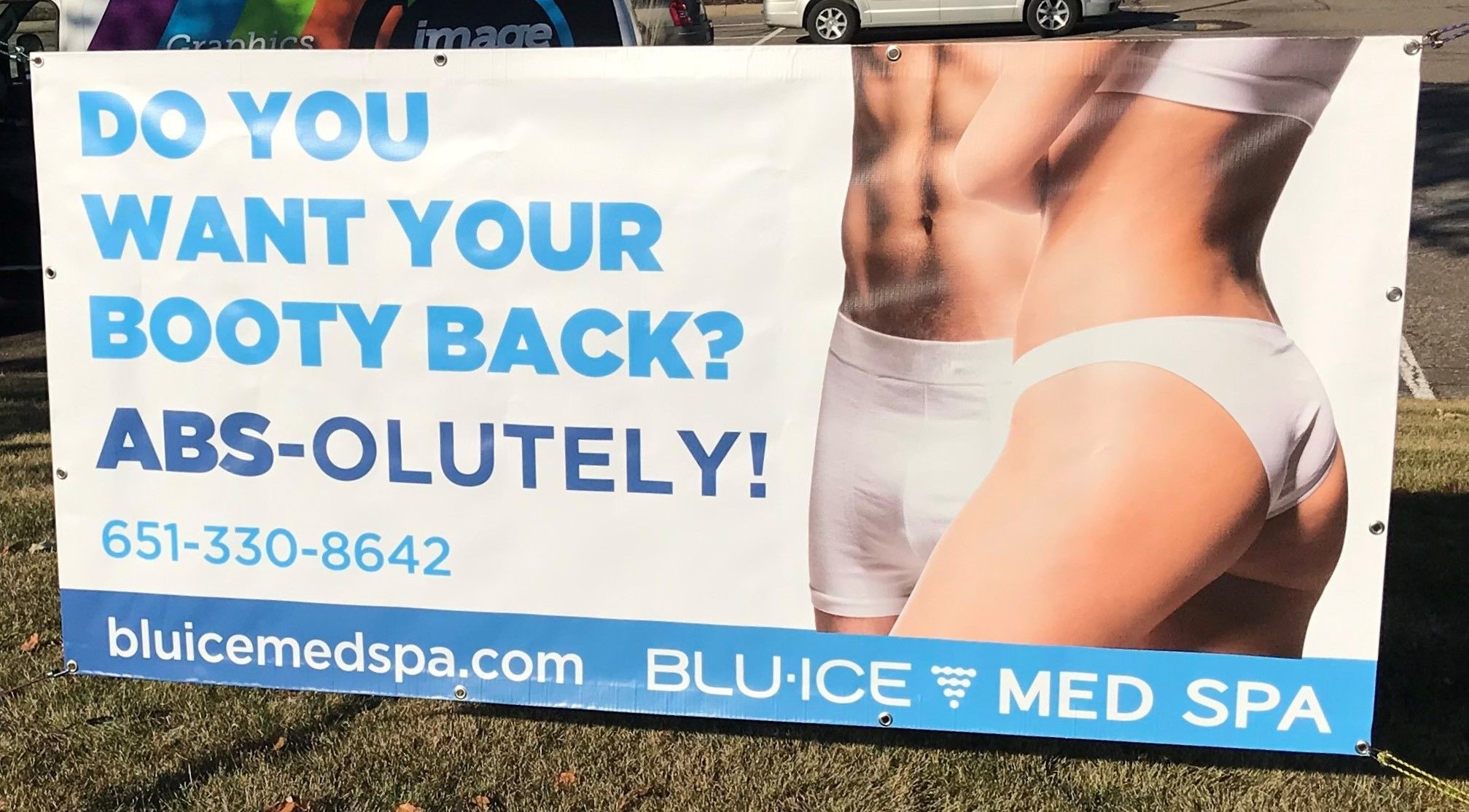 Fabric & Vinyl Outdoor Banners | Exterior & Outdoor Signage | Gyms, Health Clubs, Fitness Facilities | Woodbury, MN