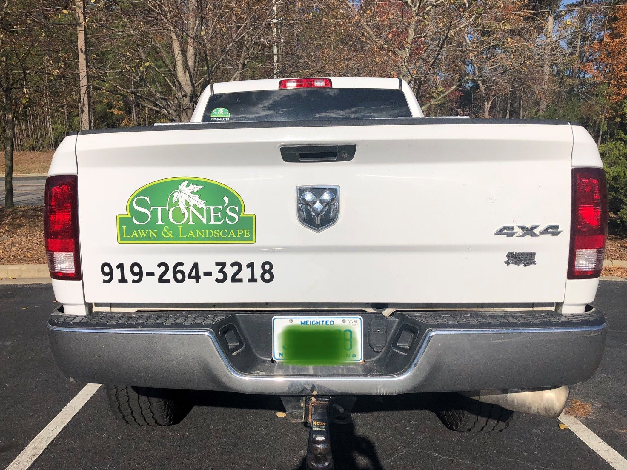 Vehicle Graphics - Stone''s Lawn & Landscape - Wake Forest, NC